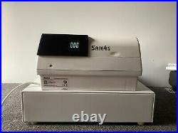 SAM4s ER-390M Electronic Cash Register Complete With Till Rolls And Free P&P