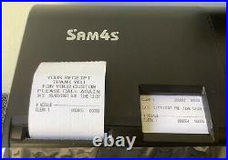 SAM4s ER-940 Electronic Cash Register Complete With Till Rolls With Free P&P