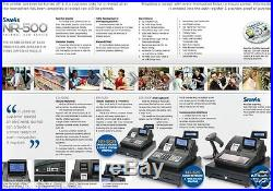 SAM4s NR500 Series Cash Register Fast Food Cafe Retail Scanning Pub Bar Till NR