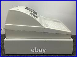 SAM4s SER-7000 Electronic Cash Register Complete With Till Rolls And Free P&P