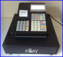 SHARP ER-A280N Electronic Cash Register With Box Of Till Rolls And Free P&P
