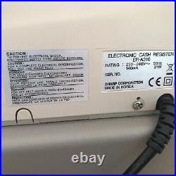 SHARP ER-A310 Electronic Cash Register Complete With Till Rolls