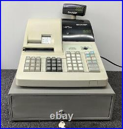 SHARP ER-A330 Electronic Cash Register Complete With Till Rolls And Free P&P