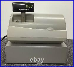 SHARP ER-A410 Electronic Cash Register Complete With Till Rolls And Free P&P