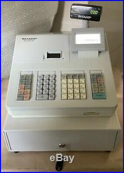 SHARP XE-207-WH Electronic Cash Register With Till Rolls And Free P&P