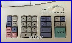 SHARP XE-A101 Electronic Cash Register Complete With Till Rols And Free P&P