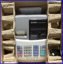 SHARP XE-A102 Electronic Cash Register Complete With Till Rolls And Free P&P