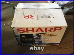 SHARP XE-A102B Electronic Cash Register Shop Till. Ref 07/21