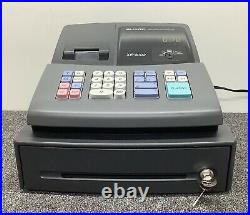 SHARP XE-A102B Electronic Cash Register With Spool And Till Rolls And Free P&P