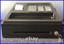 SHARP XE-A107-BK Electronic Cash Register Complete With Till Rolls And Free P&P