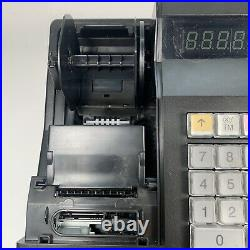 SHARP XE-A107-BK cash register Black Tested Working Small Business Till Boxed