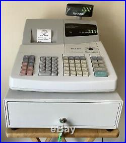 SHARP XE-A202 Electronic Cash Register Complete With Till Rolls And Free P&P