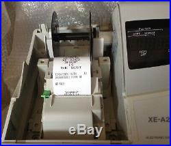 SHARP XE-A202 Electronic Cash Register Complete With Till Rolls And Keys