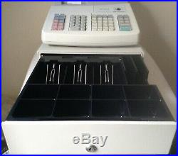 SHARP XE-A202 Electronic Cash Register With Till Rolls And Free P&P