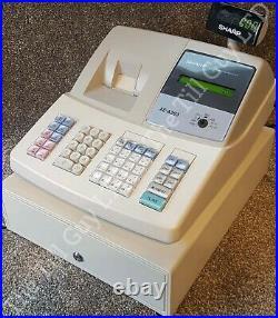 SHARP XE-A203 Cash Register, Includes Manual, keys, Till Rolls & free UK P&P