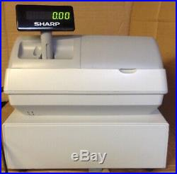 SHARP XE-A203 Electronic Cash Register With Till Rolls And Free P&P