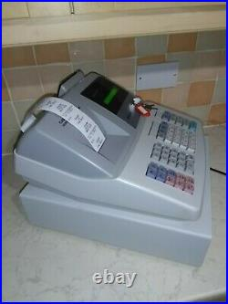 SHARP XE-A203 Electronic Thermal Cash Register & Till Rolls. In VGC. Free P&P