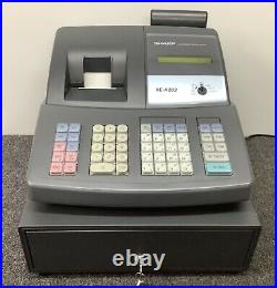 SHARP XE-A203B Electronic Cash Register Complete With Till Rolls And Free P&P