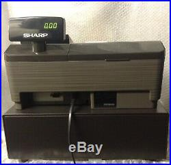 SHARP XE-A207B Electronic Cash Register Complete With Till Rolls And Free P&P