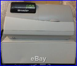 SHARP XE-A212 Electronic Cash Register Complete With Till Rolls And Free P&P