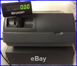 SHARP XE-A213-BK Electronic Cash Register Complete With Till Rolls And Free P&P