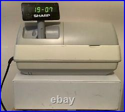 SHARP XE-A213 Electronic Cash Register Complete With Till Rolls And Free P&P