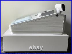 SHARP XE-A217W Electronic Cash Register Complete With Till Rolls And Free P&P