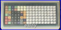 SHARP XE-A217W Electronic Cash Register With A Box Of Till Rolls And Free P&P