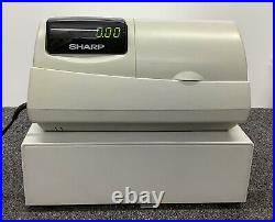 SHARP XE-A301 Electronic Cash Register Complete With Till Rolls And Free P&P