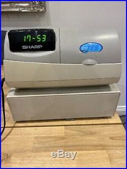 SHARP XE-A301 Electronic Cash Register Till Journal Function Shop Cust Display