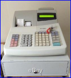 SHARP XE-A301 Electronic Cash Register With Till Rolls And Free P&P