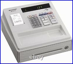 SHARP XEA 137 Small Cash Register Till + Free Memory Protection Batteries