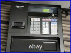 SHARP Xe-a137 Cash Register + 18 thermal till rolls + free mini thermal printer