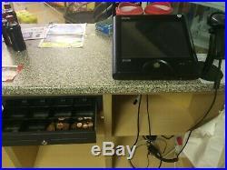 Sam Sam4s SPS 2000 touch screen till cash register