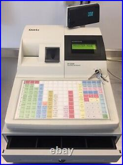 Sam4s 5200m Electronic Cash Register Till + Keys