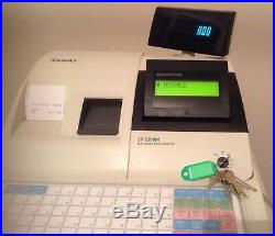 Sam4s ER-5200M Electronic Cash Register With Thermal Till Rolls And Wet Cover