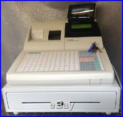 Sam4s ER-5200M Electronic Cash Register With a Box Of Till Rolls & New Wet Cover