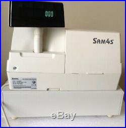Sam4s ER-5240M Electronic Cash Register With Till Rolls And Free P&P