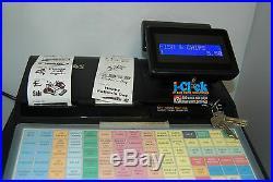 Sam4s ER-940 ECR Cash Register 900 Series Till Twin Printer Programming Utility