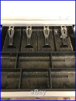 Sam4s Electronic Cash Register ER-5100 Working Tested Programable Till Shop