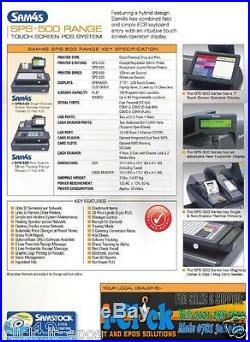 Sam4s Hybrid 7' Touchscreen ER-530 FT ECR Cash Register 500 Till Printer