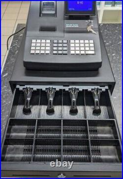 Sam4s NR-520 Cash Register Till Retail Programming Twin Receipt Printer Key