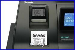 Sam4s NR520RB (520R) Cash Register Till