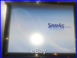 Sam4s ROM SPS 2200 15' Touchscreen Till 4 Restaurant Cafe Pub Cash Register