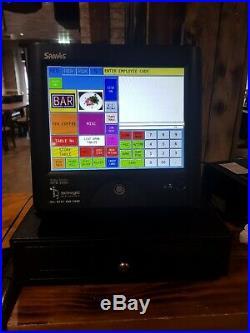 Sam4s Sps 2000 EPOS Touch Screen Cash Till Register, Cash Drawer