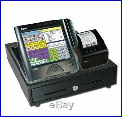 Sam4s Sps 2000 EPOS Touch Screen Cash Till Register, Cash Drawer Printer scanner