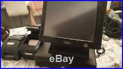 Sam4s Spt-3000 EPOS Touch Screen Cash Till Register Cash Drawer and Printer used