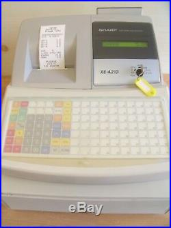 Sharp Cash Register Shop Till Splash Proof Keyboard Ideal Pub Club Catering Etc