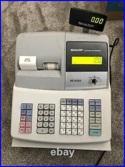 Sharp Electronic Cash Register XE-A303 Includes Till Rolls