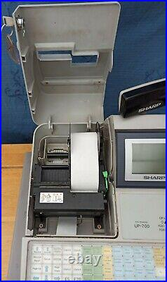 Sharp Up-700 Up700 cash register till multi funct programme pub shop cafe
